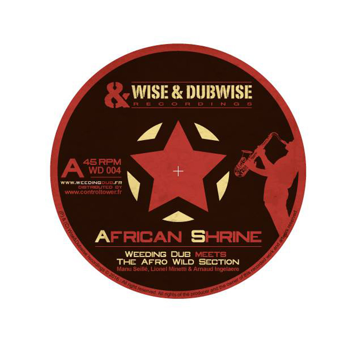 Weeding Dub Meets The Afro Wild Section – African Shrine